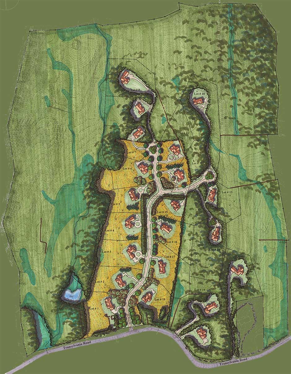Aisling Meadows Sitemap